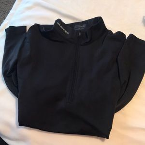 Fully lined cycling half zip